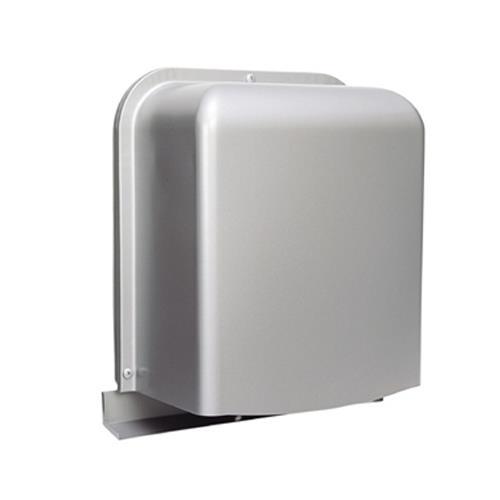 西邦工業 外壁用ステンレス製換気口 (深型フード ワイド水切り付) 下部金網3メッシュ 下部開閉タイプ <GFN-S> 【型式:GFN125S-VM 00607501】[新品]