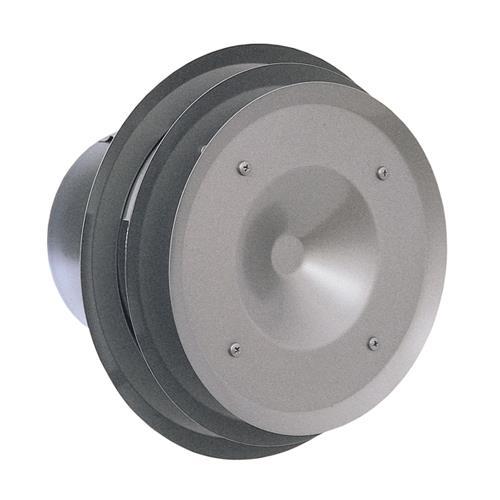 西邦工業 外壁用ステンレス製換気口 (パイプフード) 金網型10メッシュ 多層フラットカバー付 耐外風 防火ダンパー付 <PFND-SC> 【型式:PFND125SC 00607588】[新品]