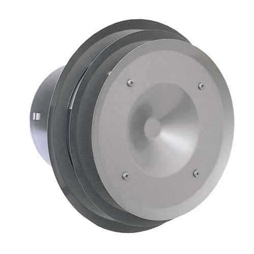 西邦工業 外壁用ステンレス製換気口 (パイプフード) ガラリ型 多層フラットカバー付 耐外風 防火ダンパー付 <PFXD-SC> 【型式:PFXD125SC 00607598】[新品]