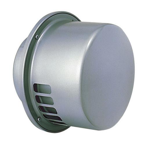 西邦工業 外壁用ステンレス製換気口 (レインキャップ (C)) キャップ型 防風雨用内管付 <RCX-S> 【型式:RCX150S 00607621】[新品]