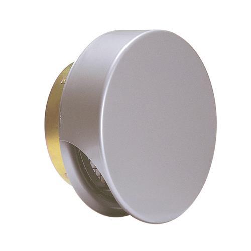 西邦工業 外壁用ステンレス製換気口 (薄型フラットフード) 金網型3メッシュ 薄型フード 防火ダンパー付 <SNUD-S> 【型式:SNUD125S 00607816】[新品]