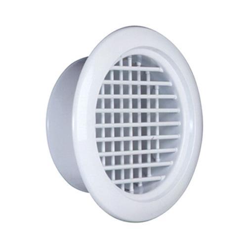 西邦工業 空調用吹出口 アルミニウム製ラウンドレジスター <RHV> 【型式:RHV10 00608002】[新品]