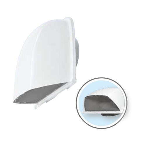 深形フード(ワイド水切タイプ)網 防火ダンパー付 ホワイト <AT-FNS> 【型式:AT-100FNSK5-W 00783453】[新品]