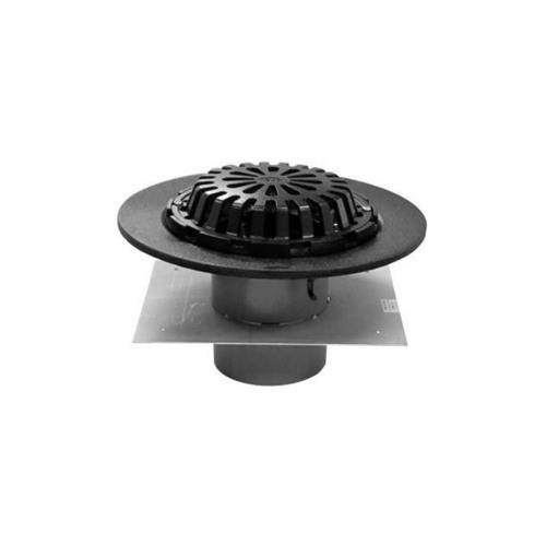 長谷川鋳工所 鋳鉄製たて型ルーフドレイン(デッキプレート用)型 <RVWPD-DR> 【型式:RVWPD-DR-125 00794734】[新品]