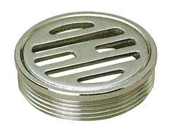 アウス ステンレス製排水目皿(外ネジ) <D-3GS> 【型式:D-3GS-65 42040517】[新品]