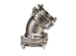オーエヌ工業 45°エルボ(SCS13) <NJL45ESR> 【型式:NJL45ESR-100(SCS13) 04112460】[新品]