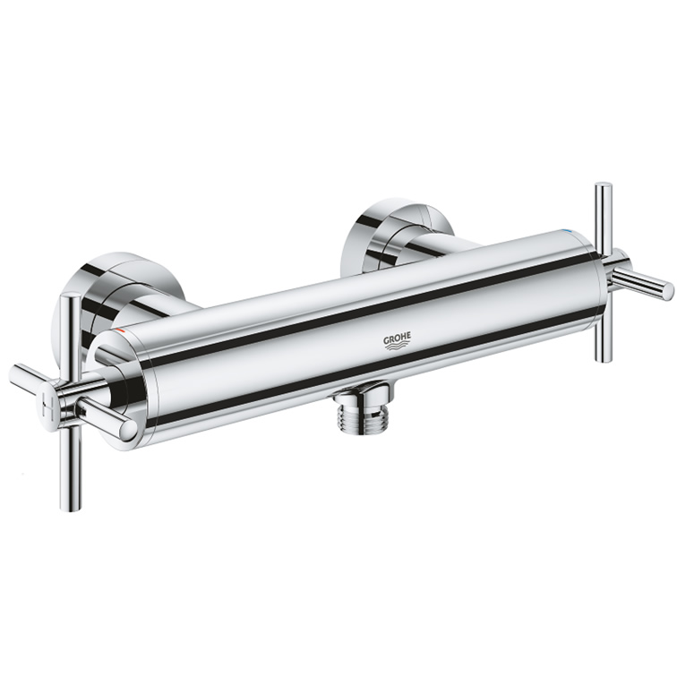 【直送商品】GROHE[グローエ] 浴室用水栓 【26 003 30J】 アトリオ 2ハンドルシャワー混合栓 [新品]【NP後払い不可】