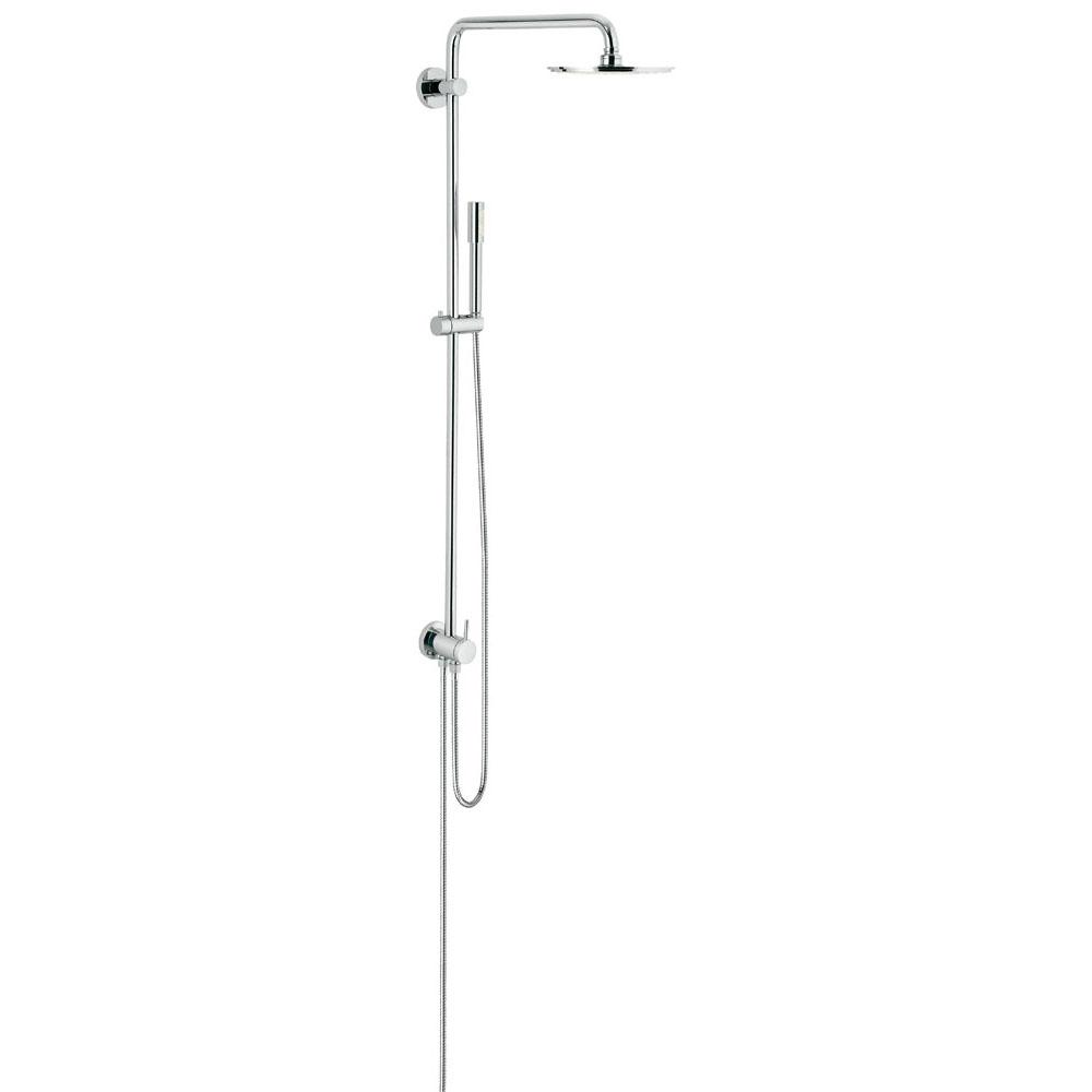 【直送商品】GROHE[グローエ] シャワーシステム&シャワー 【27 058 00J】 シャワーシステム ダイバーター切替タイプ [新品]【NP後払い不可】