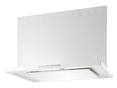 富士工業 レンジフード エコシリーズ 間口750 色ホワイト【CLRL-ECS-751RW】前幕板セット 高さ600/700 [納期10日前後]【代引き不可・NP後払い不可】[新品]