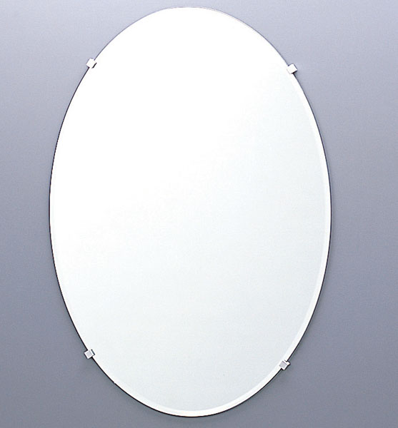 KF-5070AC INAX LIXIL・リクシル 化粧鏡(防錆) だ円形[新品]