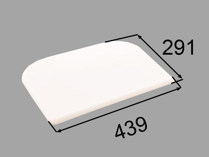 INAX・LIXIL 浴室部品 クッション【CCB-3/W】ホワイト 浴室レスト・クッション品 [新品]