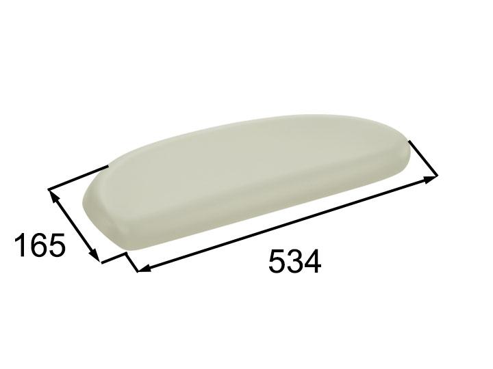 INAX・LIXIL 浴室部品 ヘッドレスト【YCH-2/B】ベージュ 浴室レスト・クッション品 [新品]
