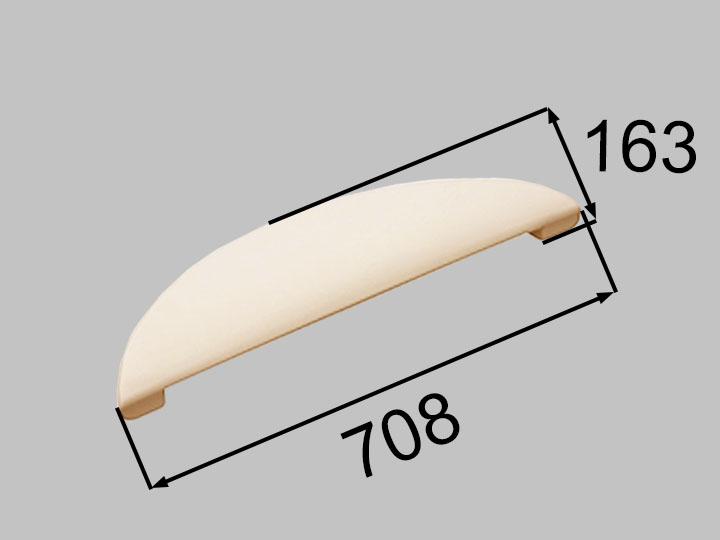 INAX・LIXIL 浴室部品 ヘッドレスト【YCH-4B/B】アイボリー 浴室レスト・クッション品 [新品]