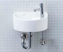 INAX イナックス LIXIL リクシル 【AWL-33(P)】狭小手洗シリーズ 手洗タイプ(丸形)壁給水・壁排水(Pトラップ)ハイパーキラミック仕様[新品]