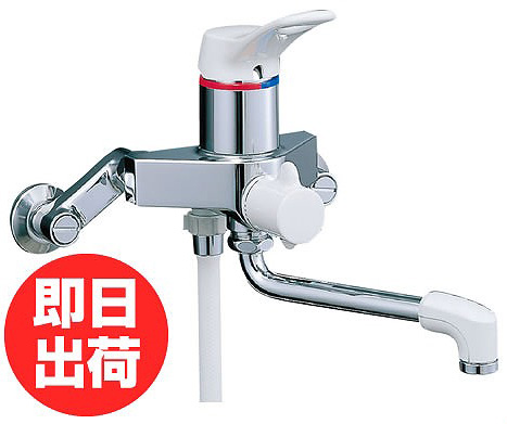 【あす楽】シャワーバス水栓 INAX LIXIL・リクシル 【BF-M135S】シングルレバータイプ「ミーティス」[蛇口][新品]