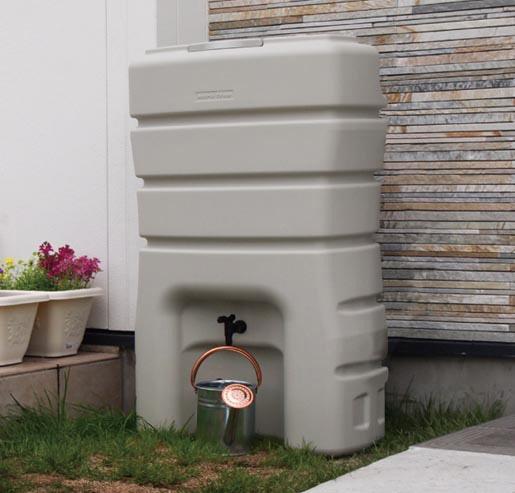 三栄水栓[SANEI] 雨水タンク【EC2010AS-H-140L】[新品]