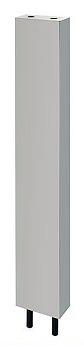 カクダイ 厨房用ステンレス水栓柱(立形水栓用)//20【624-660-120】[新品]