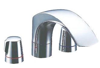 INAX LIXIL・リクシル 水栓金具 バス水栓 デッキタイプ 【BF-J093B】 ジュエラ 2ハンドルバス水栓 乾式工法[蛇口][新品]