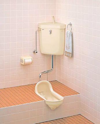 INAX LIXIL・リクシル トイレ 和風便器 便器のみ 【C-854BM】 給水装置【DT-570XR32】 洗浄管【CF-171D-32BL】 スパッド【CF-103BB】[新品]