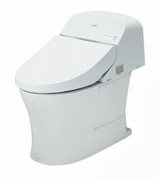 TOTO パブリック向け ウォシュレット 一体形便器 一般地 乾電池リモコン 給水:壁床共通 排水:壁 排水心:120mm【CES957P】[新品]