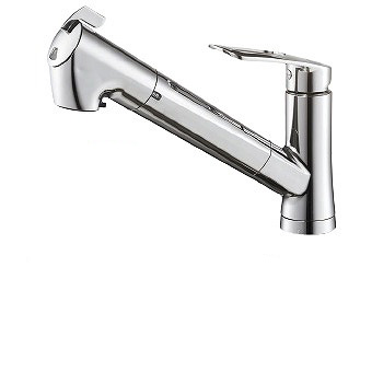 三栄水栓[SANEI]【K87128EJV-13】シングル浄水器付ワンホールスプレー混合栓[新品]
