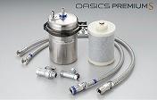 キッツマイクロフィルター 浄水器 【OAS8S-U-1】 「直圧式」家庭用浄水器 水回りのデザインに、もっと自由を。 浄水器>オアシックスプレミアム [新品]