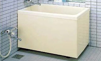 INAX LIXIL・リクシル 浴槽 ポリエック 1,000サイズ 和風タイプ 2方全エプロン【PB-1002B(BF)R】バランス釜取付用 右排水【メーカー直送のみ・代引き不可・NP後払い不可】[新品]