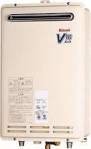 リンナイ ガス給湯器【RUK-V1610W-E】[21-7009] RUK-V1610W[新品]