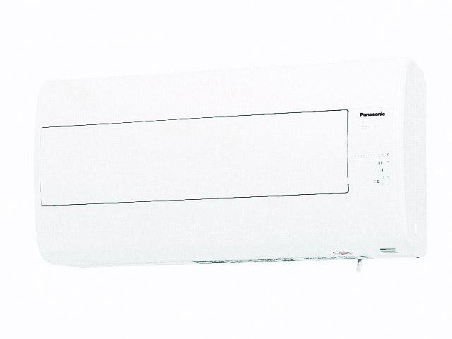 パナソニック 換気扇【FY-16ZJH1-W】 気調換気扇(壁掛け熱交)1パイプ方式 壁掛形・1パイプ式 排湿形・自動運転形(湿度センサー) 電気式シャッター 色=ホワイト 寒冷地仕様[新品]