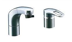INAX LIXIL・リクシル 洗面器・手洗器用水栓金具 ホース引出式シングルレバー FWP/洗髪タイプ(エコハンドル) 寒冷地対応【SF-810SYNU】[新品]