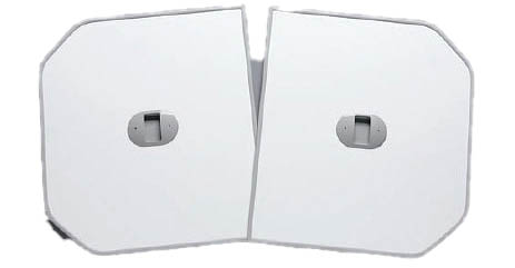 TOTO ふろふた 【PCF1550R】 軽量把手付き組み合わせ式 (2枚)[新品]