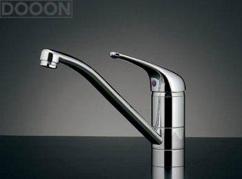 カクダイ 水栓材料 シングルレバー混合栓【117-105】[新品]
