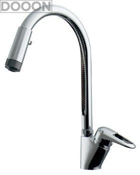 カクダイ 水栓材料 シングルレバー混合栓(シャワつき)【117-120K】[新品]