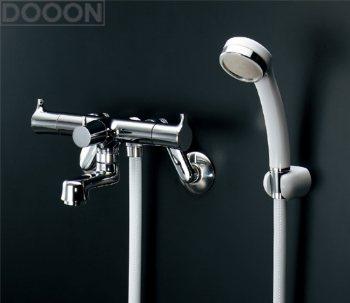 カクダイ 水栓材料 2ハンドルシャワ混合栓(一時止水)【139-020】[新品]