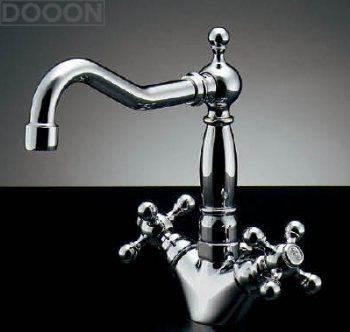 カクダイ 水栓材料 2ハンドル混合栓【150-433】[新品]