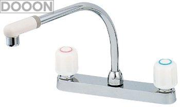 カクダイ 水栓材料 2ハンドル混合栓【151-005K】[新品]