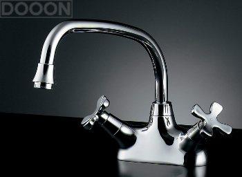 カクダイ 水栓材料 2ハンドル混合栓【151-210】[新品]