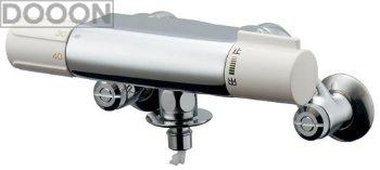 カクダイ 水栓材料 洗濯機用サーモスタット混合栓(ドラム式用)【177-002K】[新品]