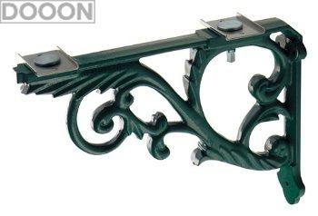カクダイ 水栓材料 ブラケット//鋳鉄、緑色塗装【250-005-G】[新品]