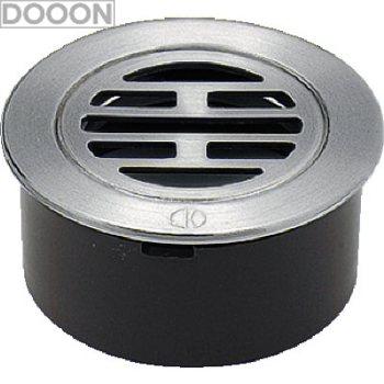 カクダイ 水栓材料 VP・VU兼用ステンレス目皿(接着式)【400-209-150】[新品]
