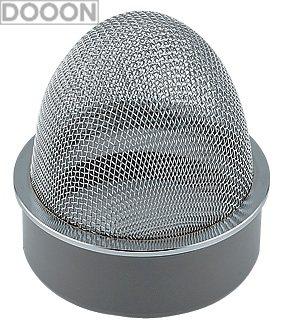 カクダイ 水栓材料 VP・VU兼用山形防虫目皿【400-238-125】[新品]