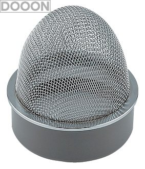カクダイ 水栓材料 VP・VU兼用山形防虫目皿【400-238-150】[新品]