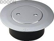 カクダイ 水栓材料 VP・VU兼用ツバヒロ掃除口(接着式)【400-412-150】[新品]