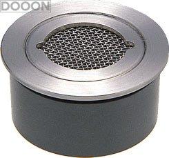 カクダイ 水栓材料 VP・VU兼用ステンレス防虫目皿(接着式)【4247-150】[新品]
