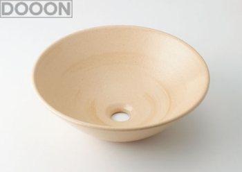 カクダイ 水栓材料 丸型手洗器//亜麻【493-046-CR】[新品]
