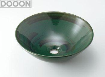 カクダイ 水栓材料 丸型手洗器//青竹【493-046-GR】[新品]