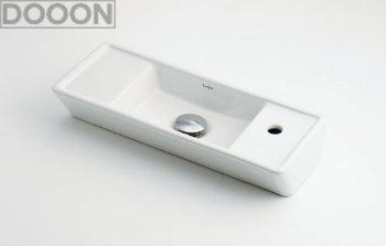 カクダイ 水栓材料 角型手洗器【493-064】[新品]