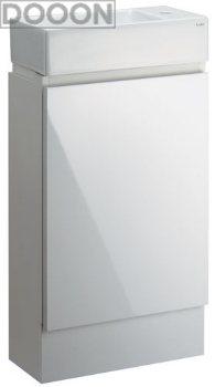 カクダイ 水栓材料 角型手洗器(キャビネットつき)【493-069】[新品]