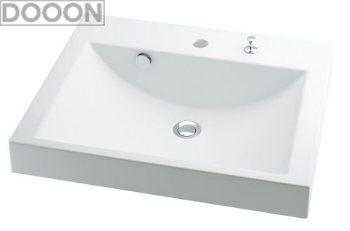 カクダイ 水栓材料 角型洗面器【493-072H】[新品]