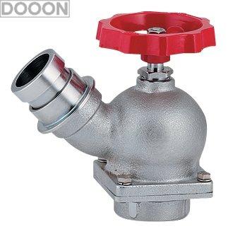 カクダイ 水栓材料 ターニングバルブ 45°【652-700-50】[新品]